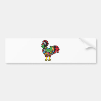 Famous Rooster of Barcelos Portugal Nr. 08 Bumper Sticker