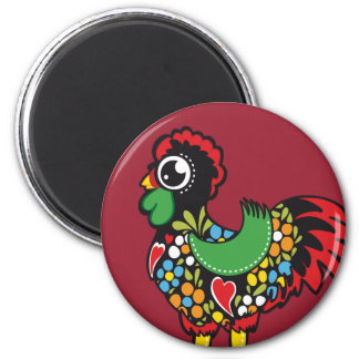 Famous Rooster of Barcelos Portugal Nr. 08 Fridge Magnets