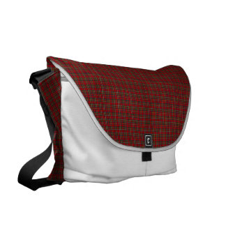 Famous Royal Stewart tartan Courier Bag