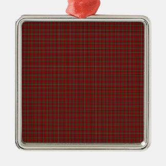 Famous Royal Stewart tartan Metal Ornament