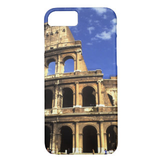 Famous ruins of the Coliseum in Rome Italy iPhone 8/7 Case