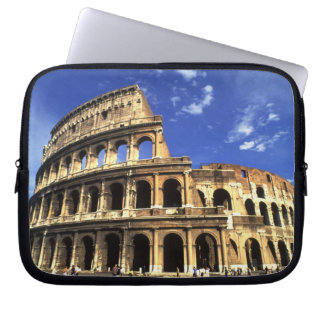 Famous ruins of the Coliseum in Rome Italy Laptop Sleeve