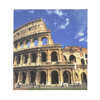 Famous ruins of the Coliseum in Rome Italy Memo Note Pads