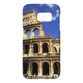 Famous ruins of the Coliseum in Rome Italy Samsung Galaxy S7 Case