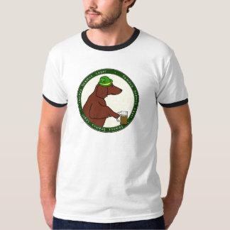 Famous Seamus Lager Irish Setter Tshirt