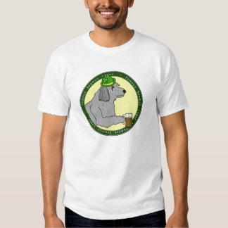 Famous Seamus Lager Irish Wolfhound T Shirt