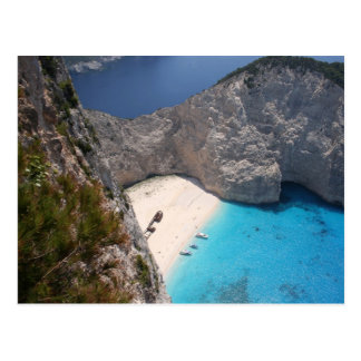 Famous Smugglers Cove, Zante Postcard
