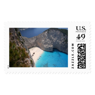 Famous Smugglers Cove, Zante Stamp
