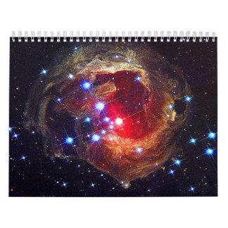Famous Space  Images Calendar