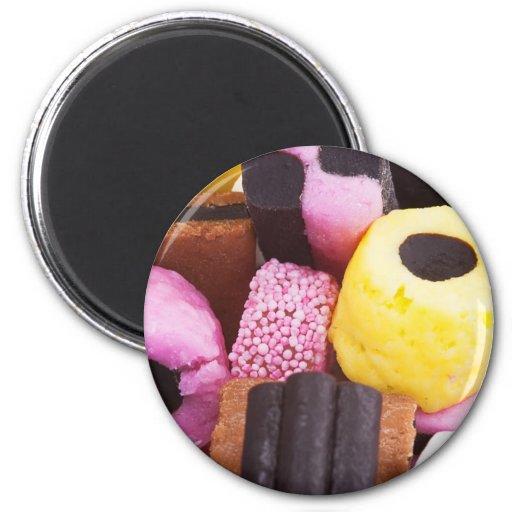 famous sweets of Liquorice Fridge Magnets