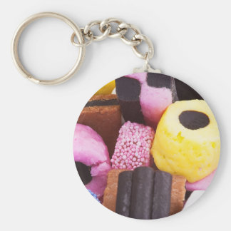 famous sweets of Liquorice Keychain