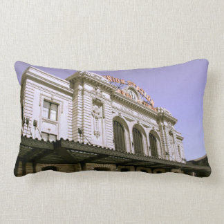 Famous Themed, Old Building With Classic Architect Throw Pillow