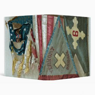 Famous Union Battle Flags - Plate 1 - Binder