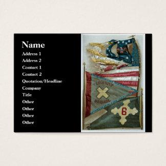Famous Union Battle Flags - Plate 1 - Business Card