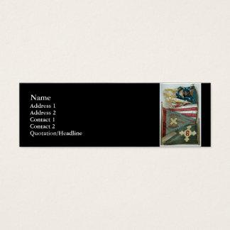Famous Union Battle Flags - Plate 1 - Mini Business Card