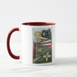 Famous Union Battle Flags - Plate 1 - Mug