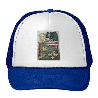 Famous Union Battle Flags - Plate 1 - Trucker Hat