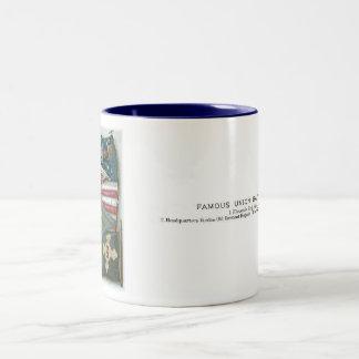 Famous Union Battle Flags - Plate 1 - Two-Tone Coffee Mug