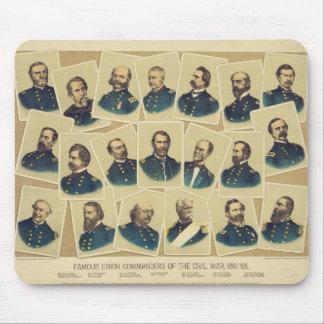 Famous Union Commanders of the Civil War Mouse Pad