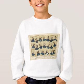 Famous Union Commanders of the Civil War Sweatshirt