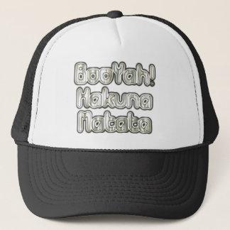 Famous Vintage BooYah Hakuna Matata Designer Tee Trucker Hat