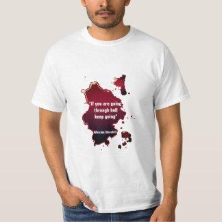 Famous Winston Churchill Quote T-Shirt