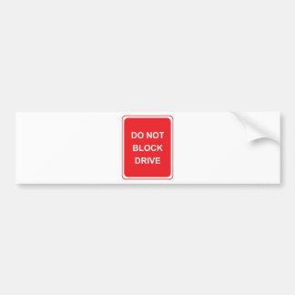 famous words bumper sticker