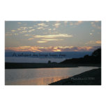 Famous Words: Sleep - Carmel Sunset - Poster