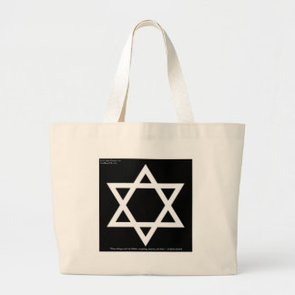 Famous Yiddish Wisdom Quote Gifts Tees Mugs Cards Large Tote Bag