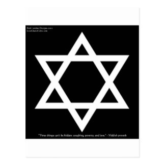 Famous Yiddish Wisdom Quote Gifts Tees Mugs Cards Postcard