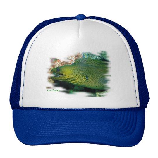 Famouse Green Moray Eel Trucker Hat
