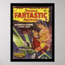 Famousfantastic06_Pulp Art Poster