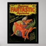 Famousfantastic1Pulp Art Poster
