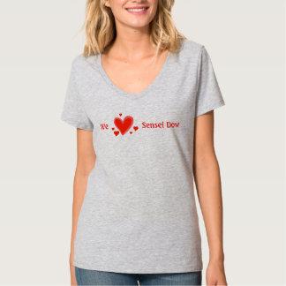 Fan, amamos Sensei Dow, la camiseta de las señoras Poleras