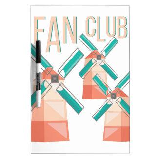 Fan Club Dry-Erase Board