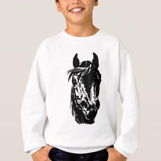 Fan Club Horse Head Sweatshirt
