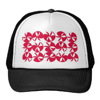Fan colorida abstracta gorra
