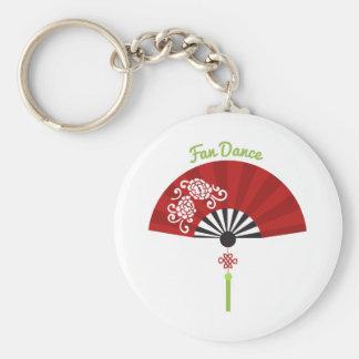 Fan Dance Key Chain