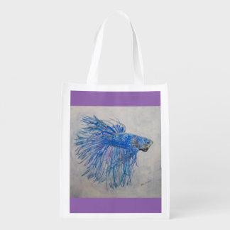Fan Dance Reusable Bag Market Tote