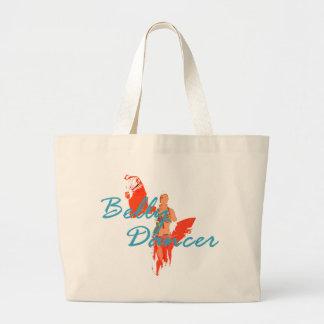 Fan Dancer Large Tote Bag