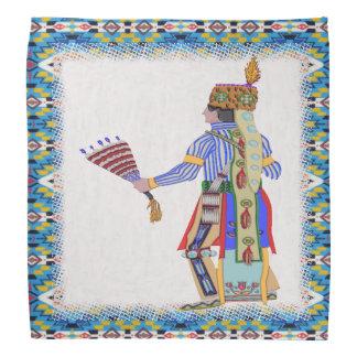 Fan Dancer Native American Bandana