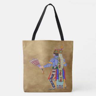 Fan Dancer Native American Tote Bag