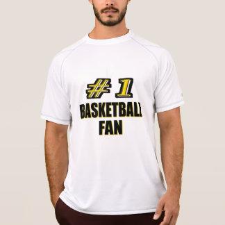 Fan de baloncesto del número uno polera