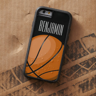 Fan de baloncesto funda para  iPhone 6 tough xtreme