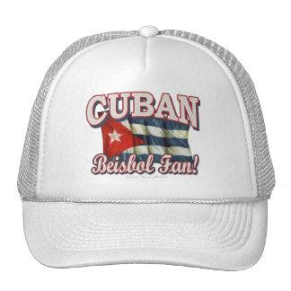 ¡Fan de Beisbol del cubano! Gorra