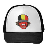 Fan de deportes de Bélgica Gorras