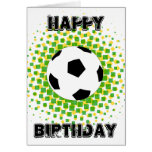 ¡Fan de deportes del feliz cumpleaños! Tarjeton