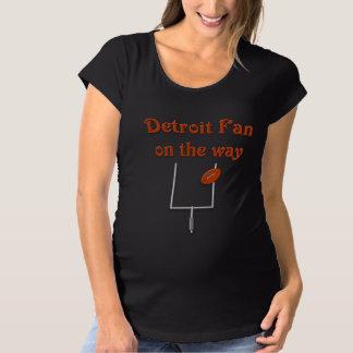 Fan de Detroit en la manera Playeras