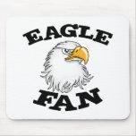 Fan de Eagle Alfombrilla De Ratón