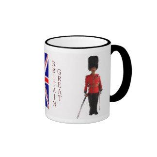 Fan de Gran Bretaña Taza De Café